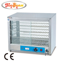 Alibaba counter top hot food warmer showcase(DH-580)