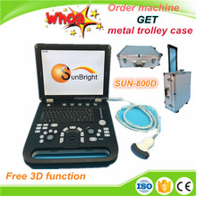 4D Portable Cardiology Color Ultrasound machine price