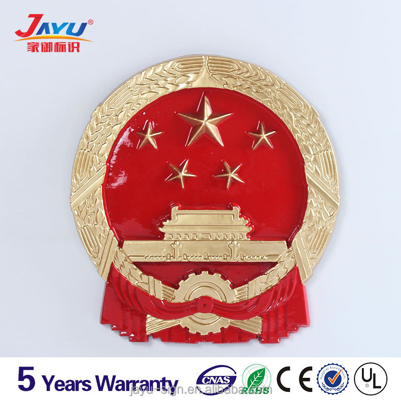 High quality skilled crafts Business administration customized metal badge