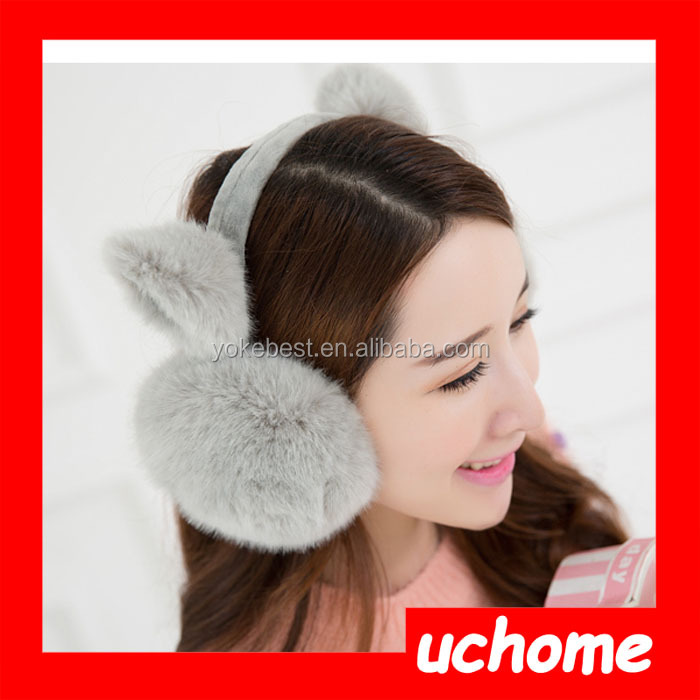 UCHOME Animal Earmuffs / Plush Cat Ear Muff