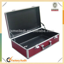 MLDGJ416 Aluminium Case With Black Leather Lined For Camera Video Laptop Instrument