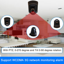 3g sim card video call camera alarm system 88 wireless defense zones security alarm system