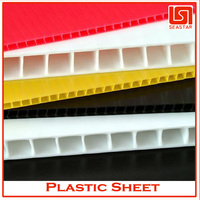 Best selling 11mm recycled plastic sheet wholesaler