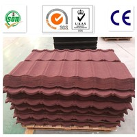 2017 building material Classical colorful stone coated metal roof tile in dippsi China