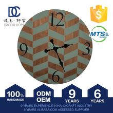 Promotional Price Decor Dial Color Change Clock Change Battery