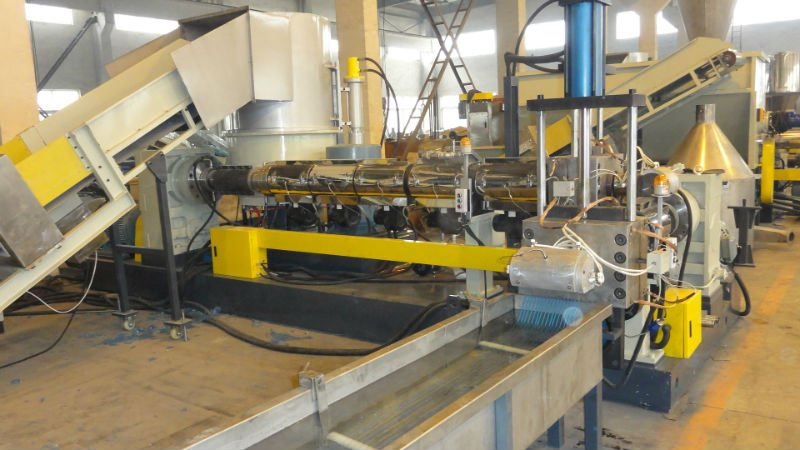 Twin/Double Stage PP/PE Pelletizing/Granulating Line