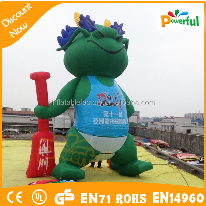 Oxford promotion inflatable cartoon character figure for advertising