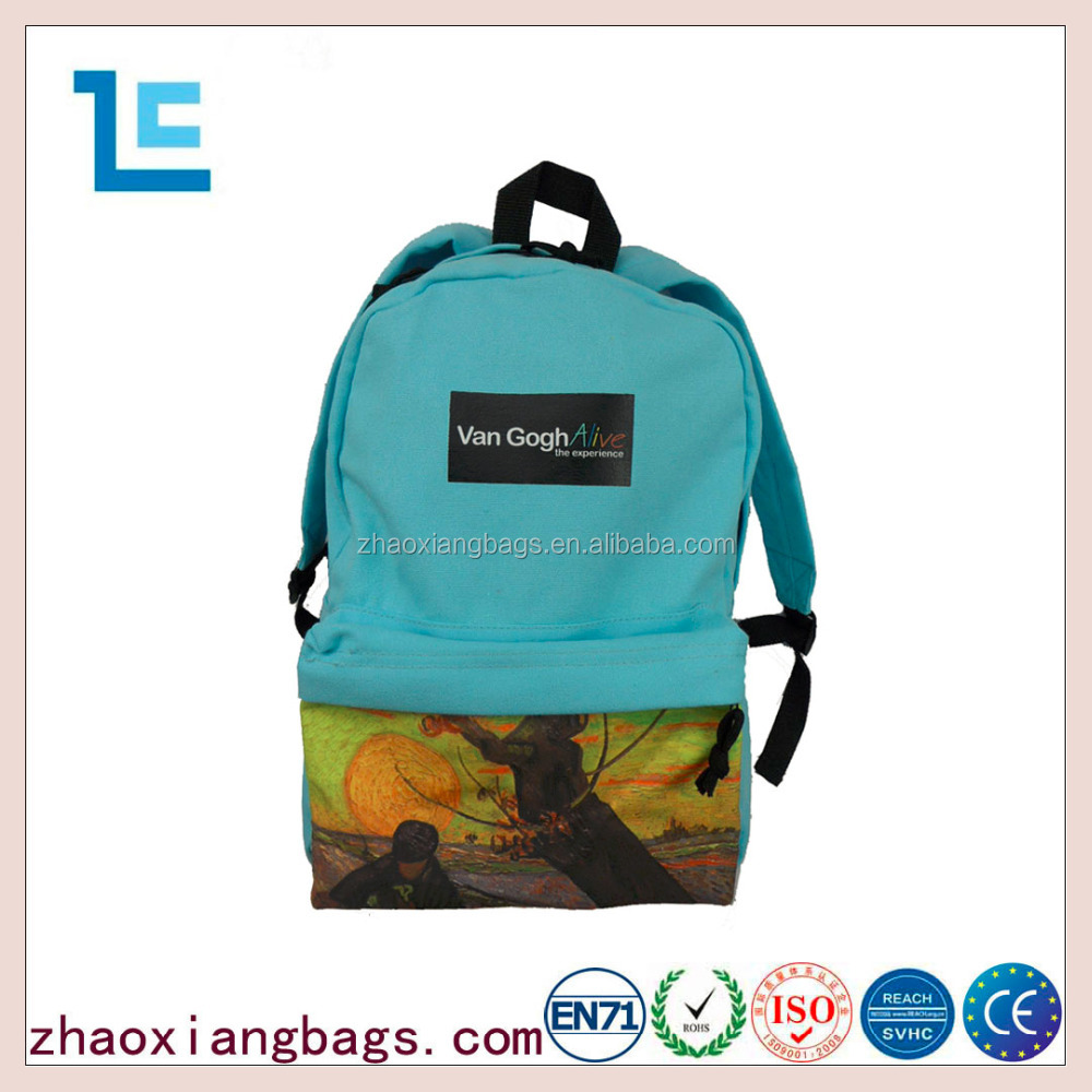 Wholesale good quality basic style children school backpack