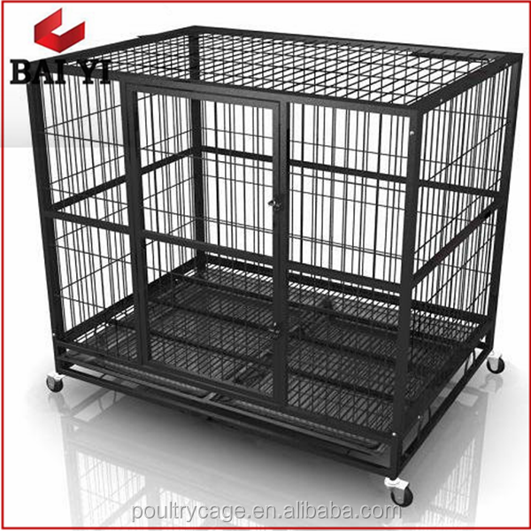 Galvanized Wire Dog Kennels /Tube Dog Crate/Pet Cage Kennels