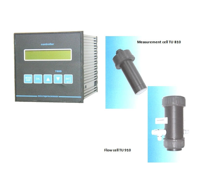 1 Channel Controller TU 7685 Turbidity meter / (pH / ORP / Chlorine / Chlorine dioxide / Ozone) - Made in GERMANY