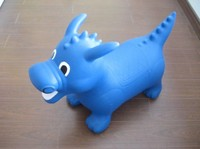 Inflated PVC Jumping Animals - Hopping Dragon