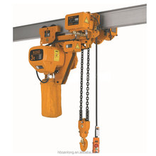 1.5t electric 5ton block and tackle chain hoist