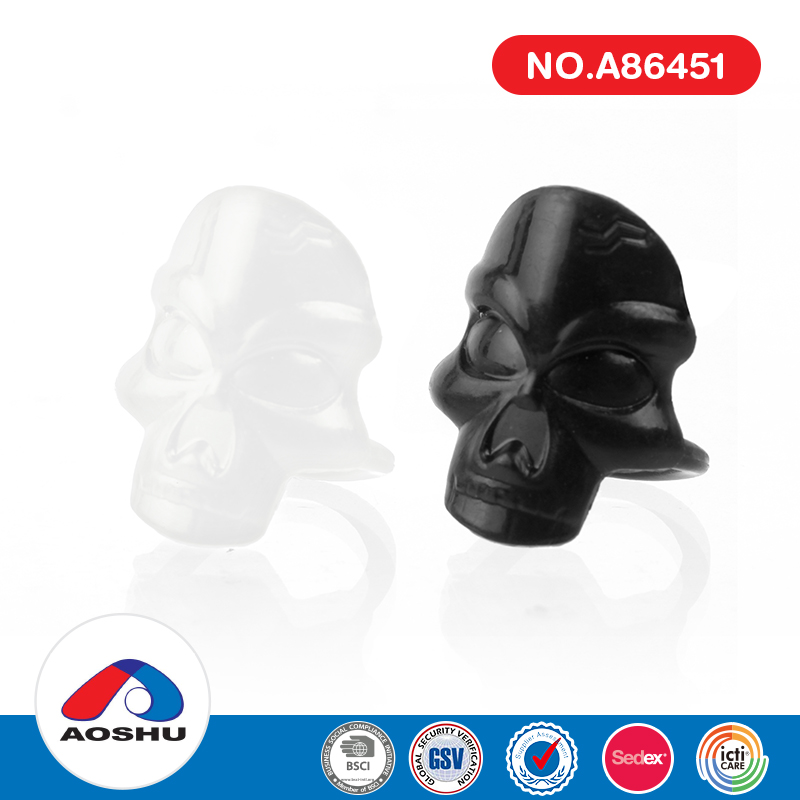 most popular halloween party favor skull rings promotional toys for children