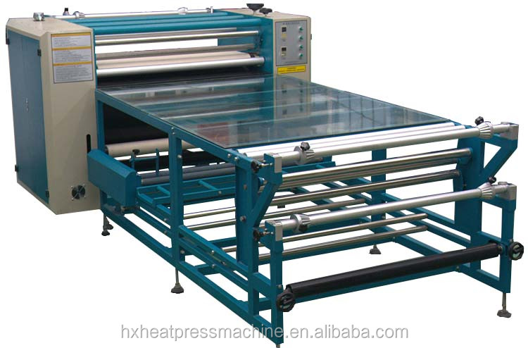 Roll Machine Sublimation Heat Press QX-G-B heat transfer machine skateboard