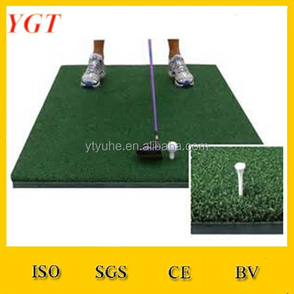Nylon Grass Air Cushion EVA Base 3 D Golf Swing Mat