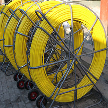 Cable Laying Tools Fiber Snake Duct Rodder,Manufacturer Fiberglass Cable Push Puller