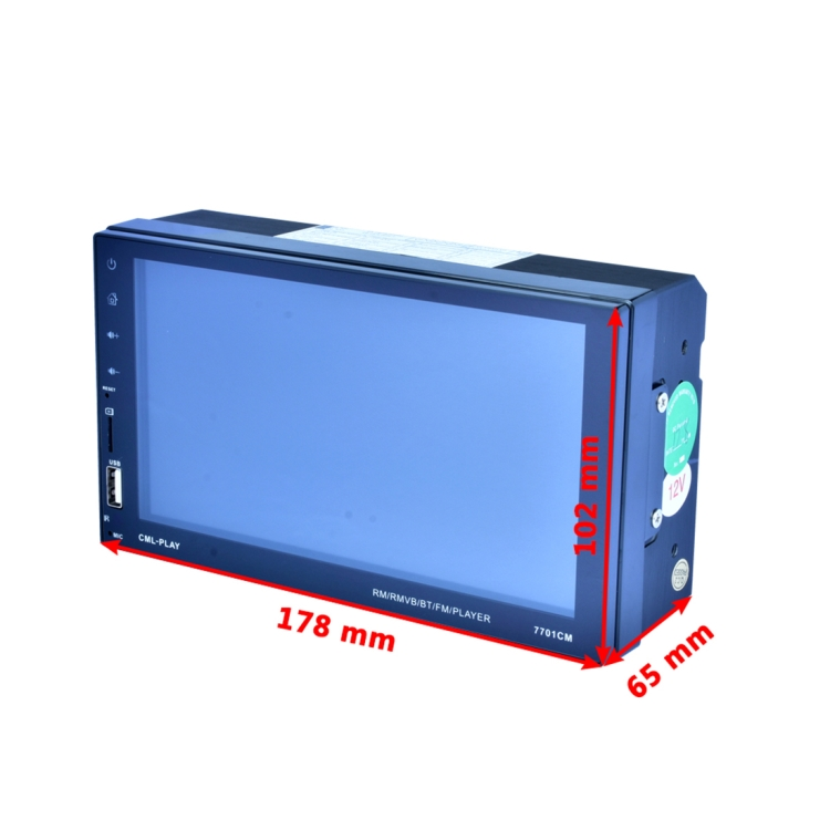 High quality OEM Touchscreen Double Din Stereo Car dvd <strong>player</strong> Blue tooth car Receiver MP5 <strong>Player</strong>