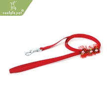 Nice Lace & Flowers Small Puppy Nylon Leash New Design Show Dog Leads