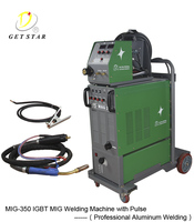 Aluminum welding welder machine/Double pulse Mig/Mag welder 350a