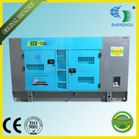 With Mitsubishi S4S Standby 24kw/30kva Diesel Generator Silent Model