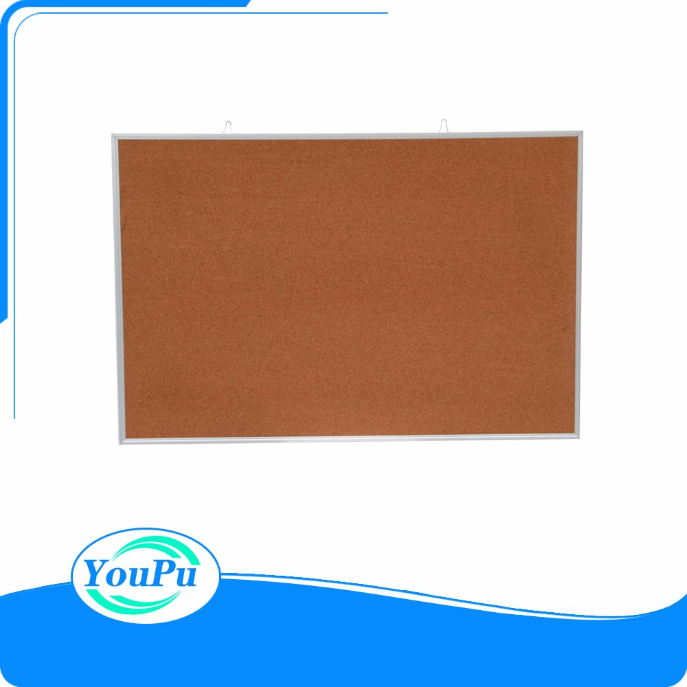 Hot sale Viz-pro whiteboard cat-eye cork notice board/drywipe board with aluminum frame
