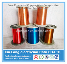 Enameled Winding Wire With Copper Wire Composition, Free Samples Offered