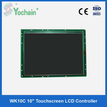 LCD controller for beauty machine display and touch screen