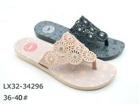 Pvc plastic plain flip flops wholesale