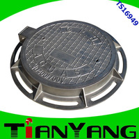 cast iron sewer manhole cover from China