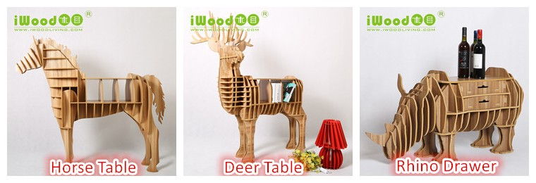 new design Adorable mini sheep wooden crafts