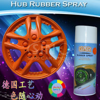 Hot Sale Colored Rubber Paint for Cars/Car Wheel Rubber Spray