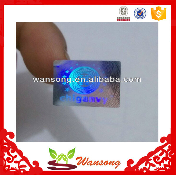 Factory direct custom anti-counterfeit label , cheap 3d hologram sticker made in china