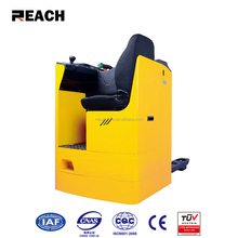 Material handling equipment seated power electric pallet truck