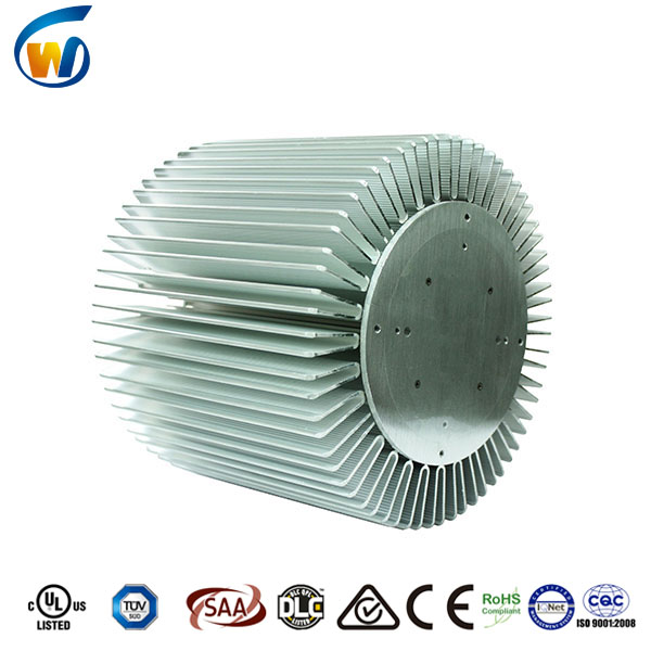 European hot sale 250w hi bay extruded aluminum heatsink enclosure