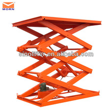 stationary temporary loading platforms