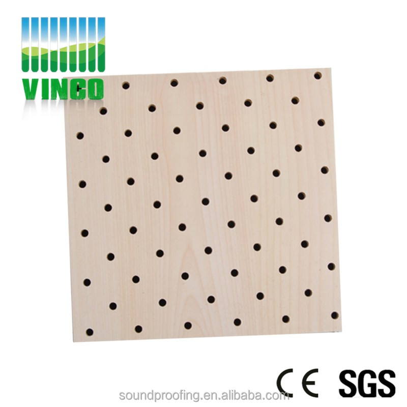 Micro Hole Wood Perforated Acoustic Sound Absorbing Panel