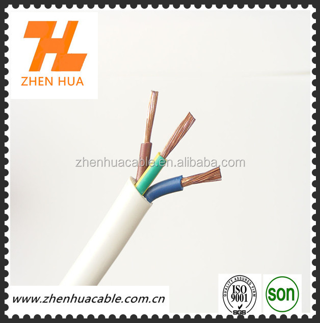 Heat Resistant Flex cable White 3X1.5MM2