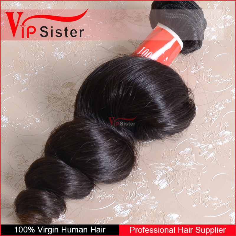 Vip Sister Hair best virgin hair company 100% pure unprocessed virgin indian loose wave
