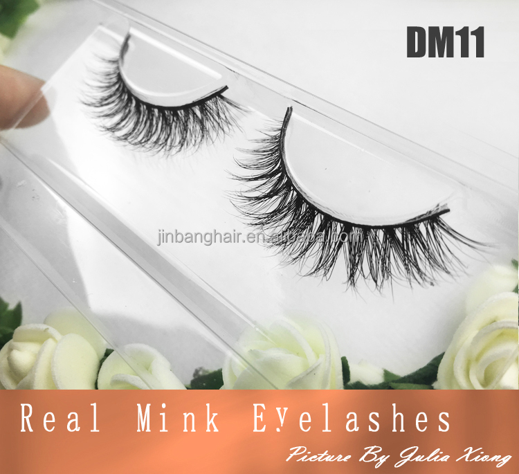 DM11 Alibaba express Mink 3D eyeLashes With Private lable , Custom own brand Mink eyelash extensions 3D mink fur lashes