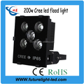 Input voltage with 220 volt cob 200w outdoor led flood light