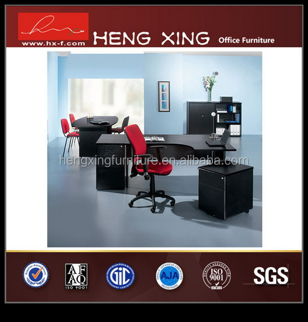 Luxury small high gloss office staff table/boss desk