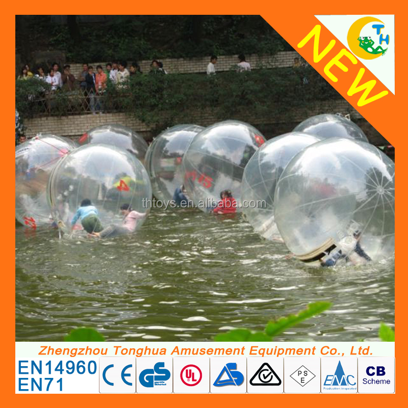 Super quality water games bubble ride inflatable water walking ball for hot sale
