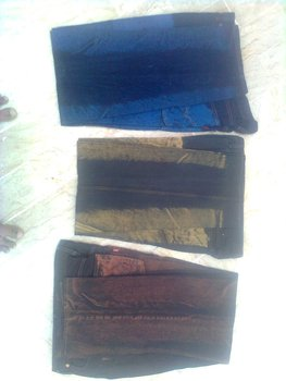 Tai Dyed denim jeans