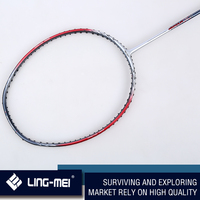 guangzhou badminton factory with cheap professional level badminton racket