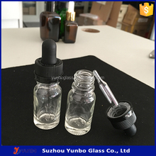 hotselling !!!!! New arrival !new style eye drops container 10ml ejuice clear glass dropper bottle made in suzhou