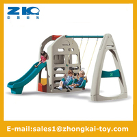 kids indoor swing and slide funny play set for sale