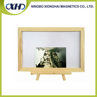 Lead Time 30 days Wood Frame Price Whiteboard With Wood Stand