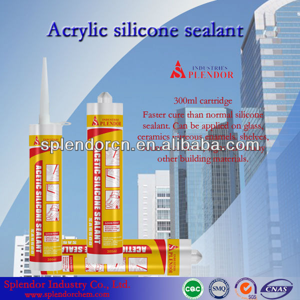Paintable MSDS Acrylic Silicone Sealant