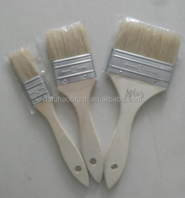 1inch, 2inch, 3inch bristle paint brush/chip brush with wooden handle