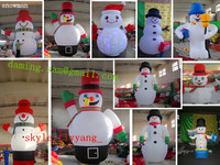 2014 High quality Outdoor giant Christmas inflatables, Christmas decoration inflatables to USA MK-33
